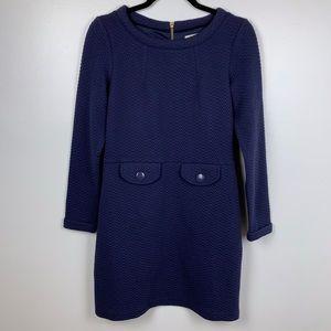 Boden Navy Long Sleeve Dress